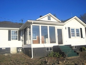 Sold! 1034 Old Corbin Pike, W-burg.  > Completely remodeled 3 bdrm., 2 baths, large lot, 2 car garage, big deck $79,800