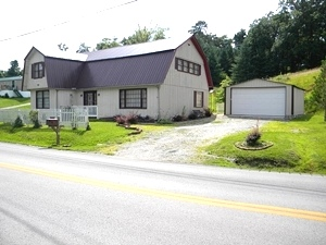 Reduced! 9535 Hwy 26, Rockhold |  Take a look at this 2 bedroom 1 bath charmer $55,000