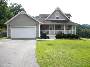 SOLD!!  478 Buc Rd., Williamsburg | Beautifully designed 11/2 story 1550 sf house on 1.42 acres $129,000
