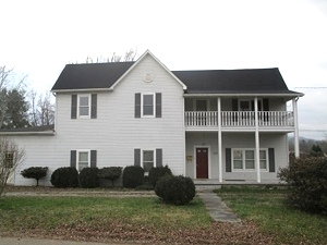 Sale pending! 222 SO. 11TH ST., WMSBG  |  Lots of space in this two-story frame house!  $89,900