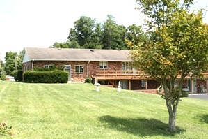 SOLD! 201 N. 10th St., Wmsbg | FOUR ACRES & a HOME big enough for two families! $295,000