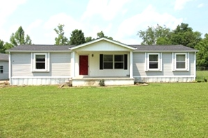 4826 Highway 1804, Wmsbg | .71 level acres fenced on 3 sides, doublewide w/a build-out(2,000 sf) 3 bdrms, fireplace, 2 baths