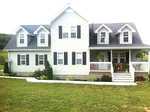 348 New Shiner Hill Rd, Wsbg, KY     3 bedrooms, 2.5 baths, a loft/study, stainless steel appliances