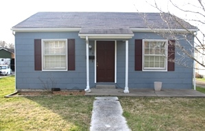 Sale pending! 204 HAMLIN ST., CORBIN | Two bdrm frame home, living rm, eat-in-kitchen, bath, front porch & rear deck.
