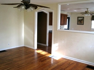 70 Boulevard of Champions   Frame house (1040sf) with a full basement in a great location near the Whitley Co. Central Campus