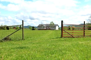 Sold! 1764 Rocky Point Rd., Williamsburg   (FREE GAS) | Ridge view farm consisting of 19.68 well maintained, surveyed and fenced acres,