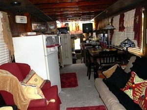 SOLD! Houseboat, 20 person capacity, 58 X 12, 115 HP Mercury $19,900