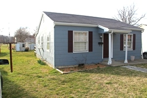 SOLD  204 HAMLIN ST., CORBIN | Two bdrm frame home, living rm, eat-in-kitchen, bath, front porch & rear deck.
