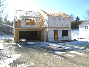 SOLD! Under construction: Three bedrms, living rm., eat-in kitchen, 2.5 baths, 2 car garage, master bdrm(15 x 20 w/full bath & walk-in closet)