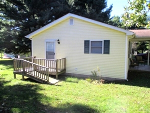 1644 Bethel  Rd. Pine Knot: |   A 784 SF+/-  vinyl sided home with two bedrooms, living room, eat-in-kitchen,
