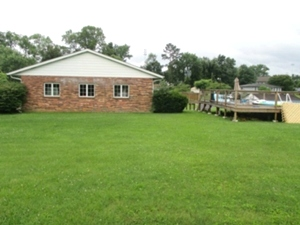 Sold!  201 N 10th St. | Brick home located on a level to slightly rolling  4 +/- acres in town