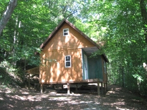 SOLD! HWY 1804, WMSBG WANT TO GO OFF THE GRID? CHECK OUT THIS 14 ACRES +/-: PARTIALLY FINISHED CABIN INCLUDED